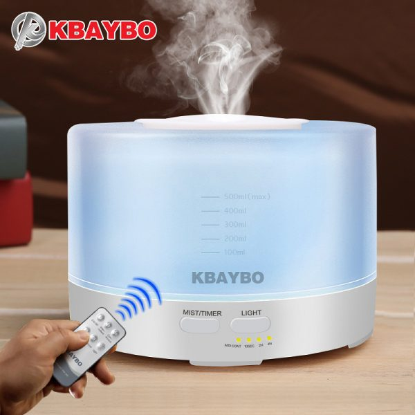 500ml-remote-control-ultrasonic-air-aroma-humidifier-with-7-color-led-lights-electric-aromatherapy-essential-oil