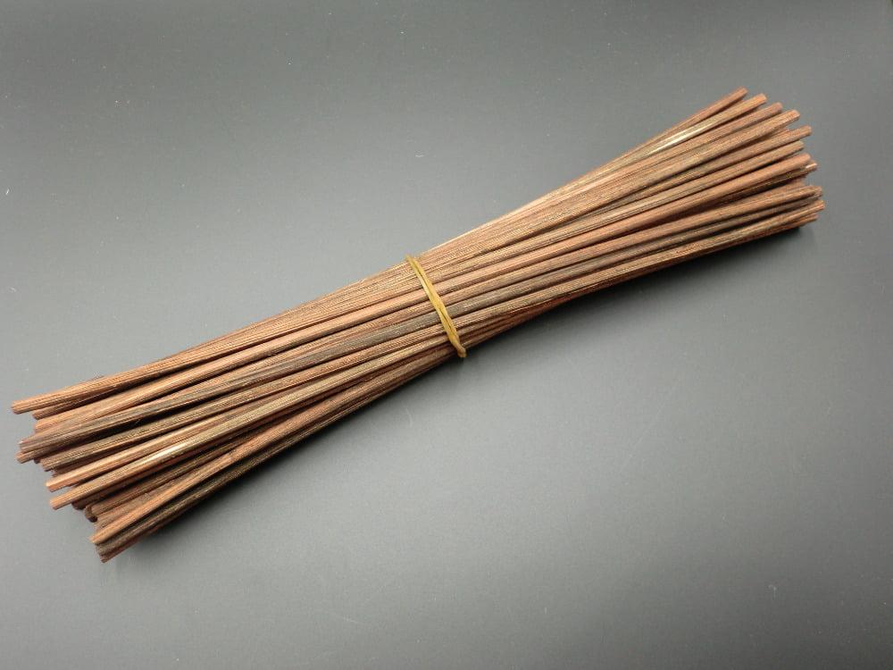 30 Pieces Premium Brown Rattan Reed Diffuser Refill Sticks